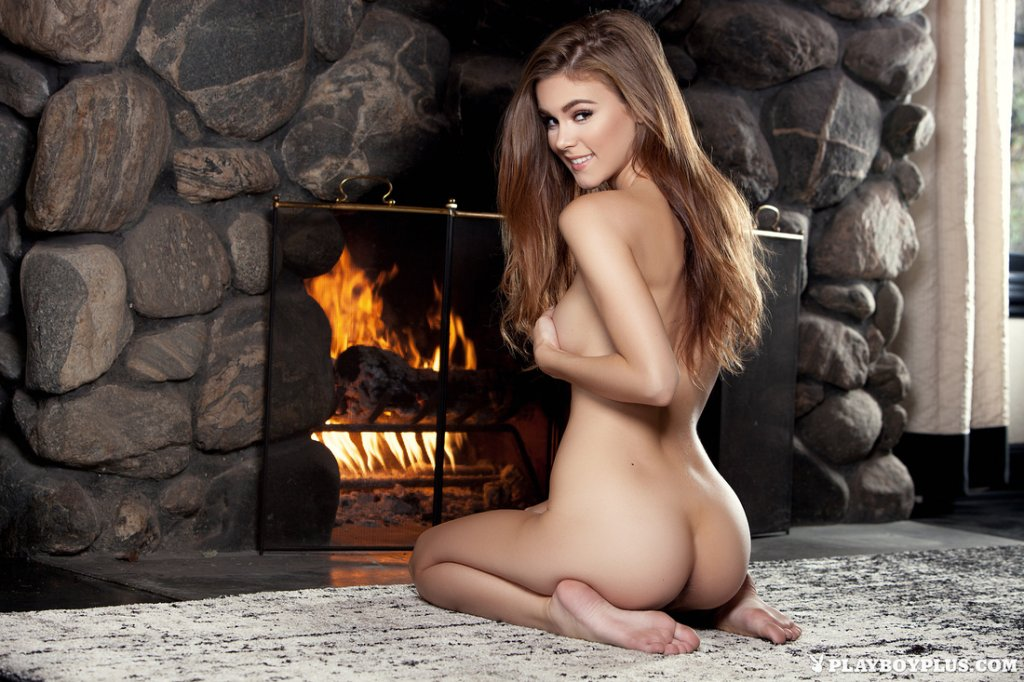 Amberleigh West – Warming Herself nude for Playboy