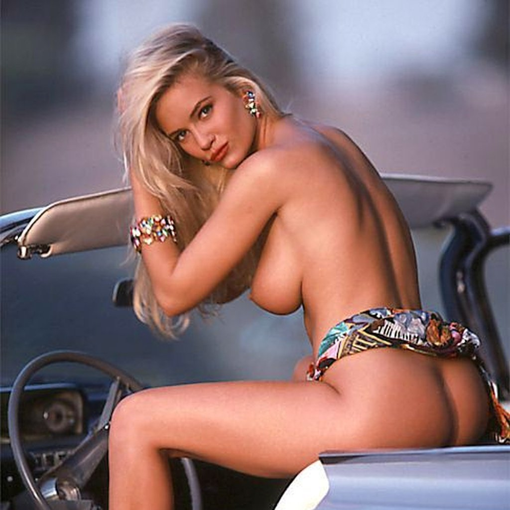 Barbara Moore nude for Playboy