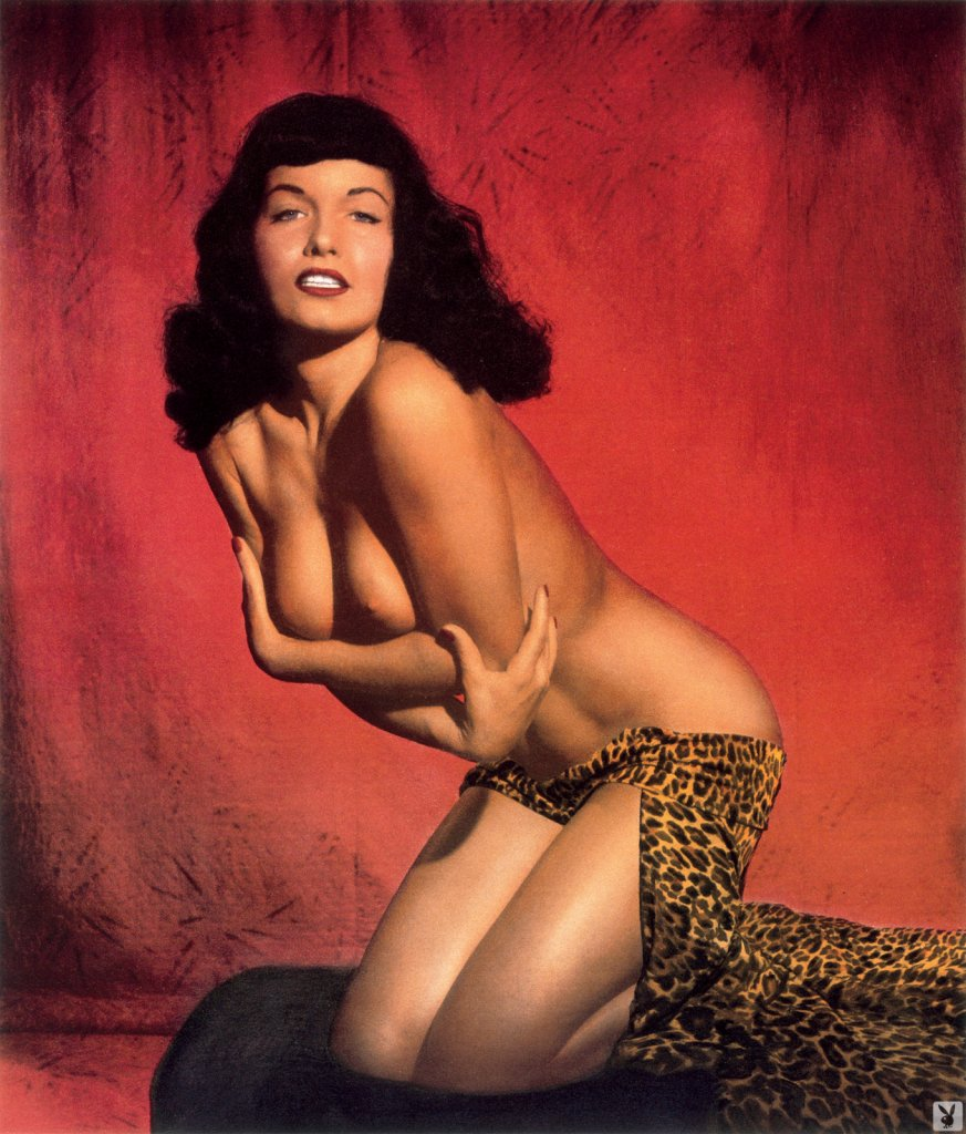 Bettie Page nude for Playboy