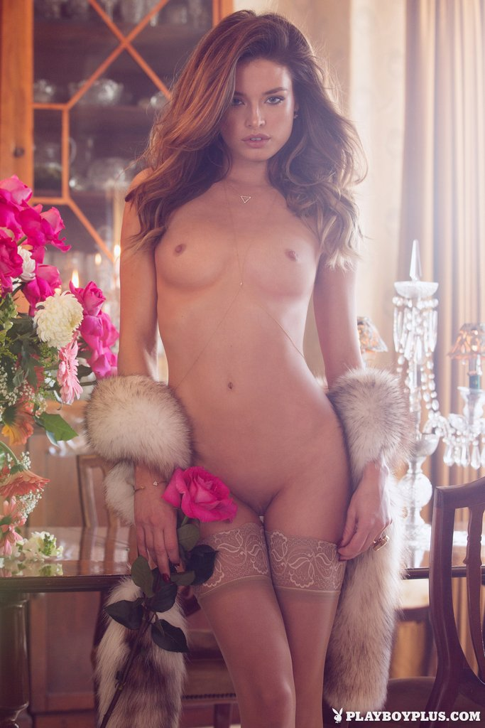 Brittany Brousseau nude for Playboy