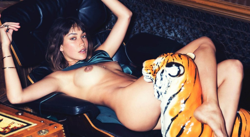 Brook Power nude for Playboy