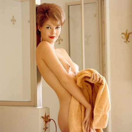 Karen Thompson nude for Playboy