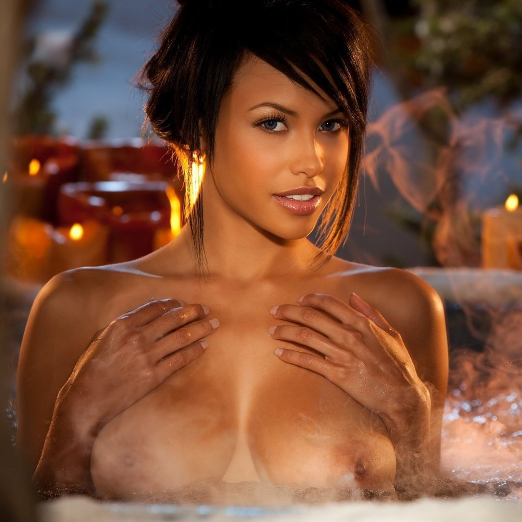 Kylie Johnson nude for Playboy