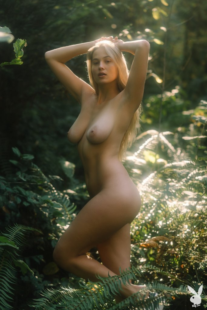 Megan Moore nude for Playboy
