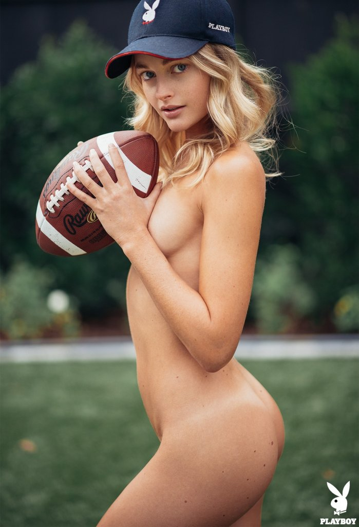 Megan Samperi nude for Playboy