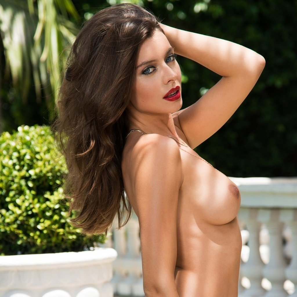 Roxanna June nude for Playboy