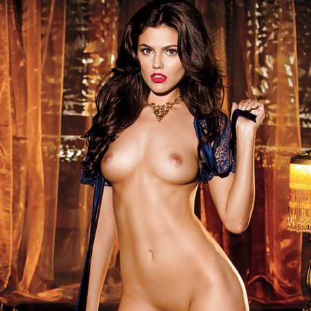 Val Keil nude for Playboy