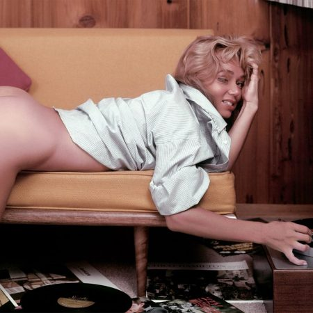Yvette Vickers nude for Playboy