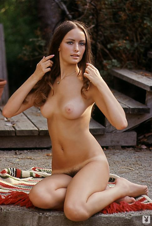 Bonnie Large nude for Playboy