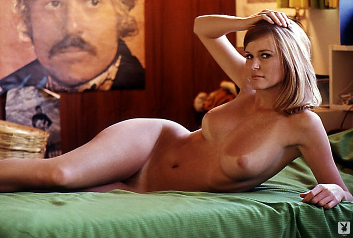 Geri Glass – Ph.D. In English nude for Playboy