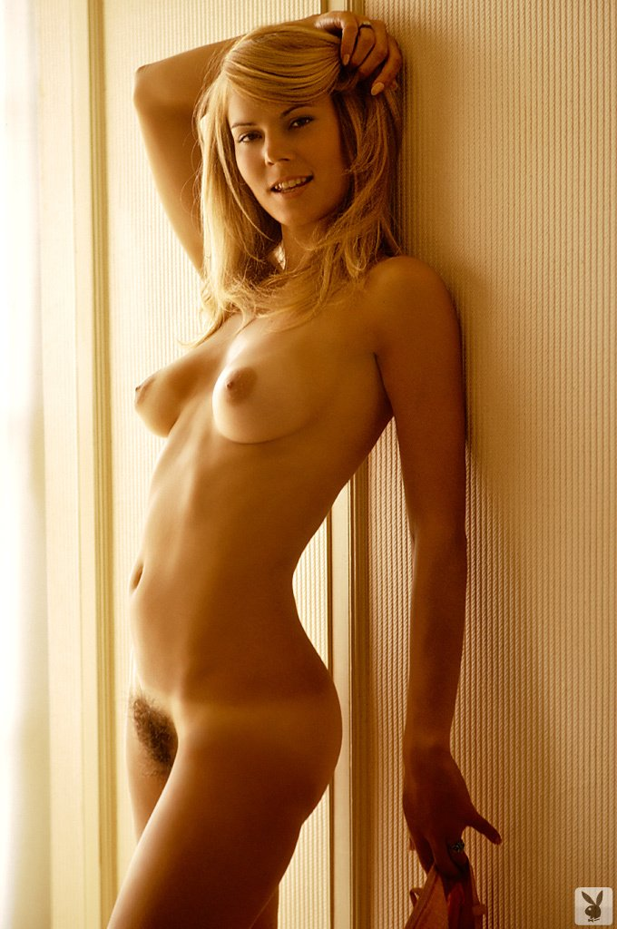 Kristine Hanson nude for Playboy