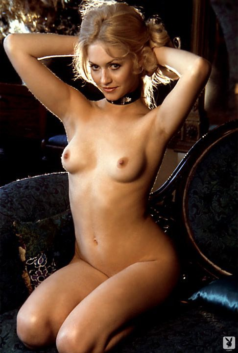 Marlene Morrow – A String of Pearls nude for Playboy