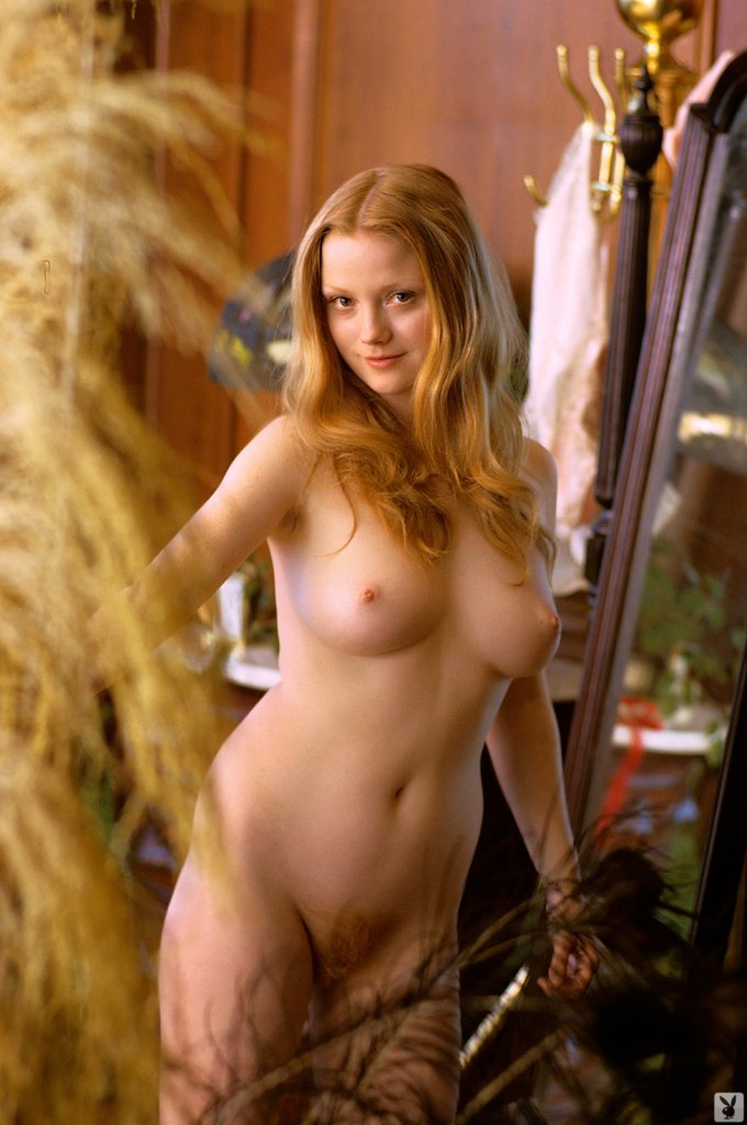 Monica Tidwell nude for Playboy