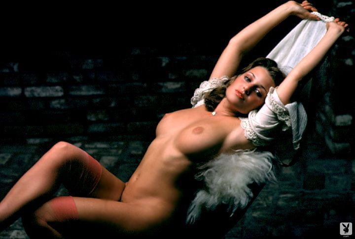 Pamela Zinszer nude for Playboy