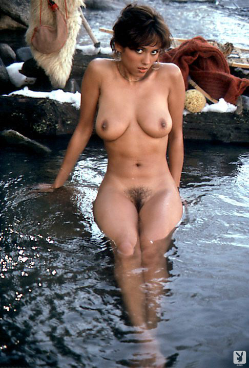 Lonny Chin nude for Playboy