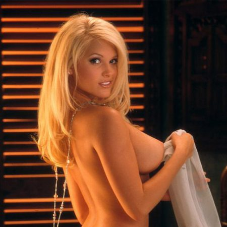 Suzanne Stokes nude for Playboy