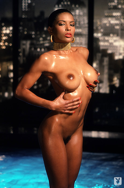 Reneé Tenison nude for Playboy