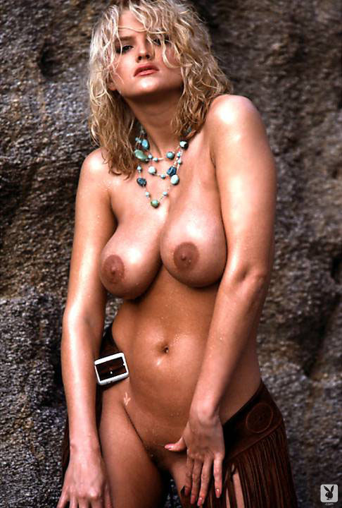 Anna Nicole Smith nude for Playboy