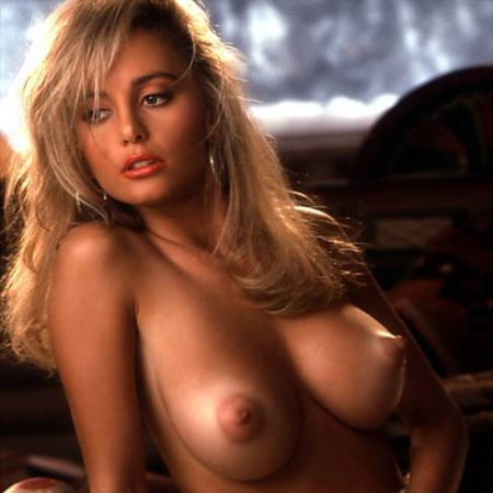 Suzi Simpson nude for Playboy