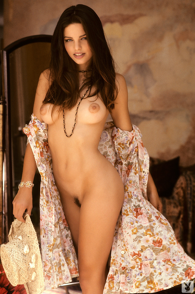 Cindy Brown nude for Playboy