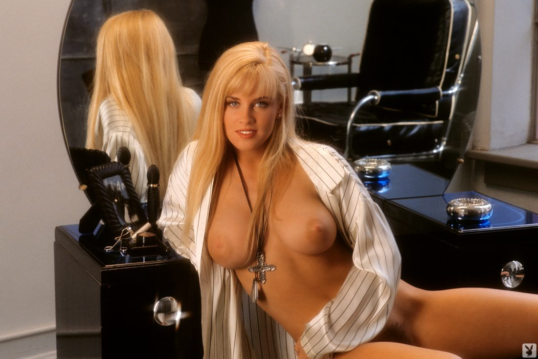Jenny McCarthy nude for Playboy