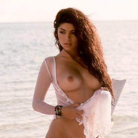 Maria Checa nude for Playboy