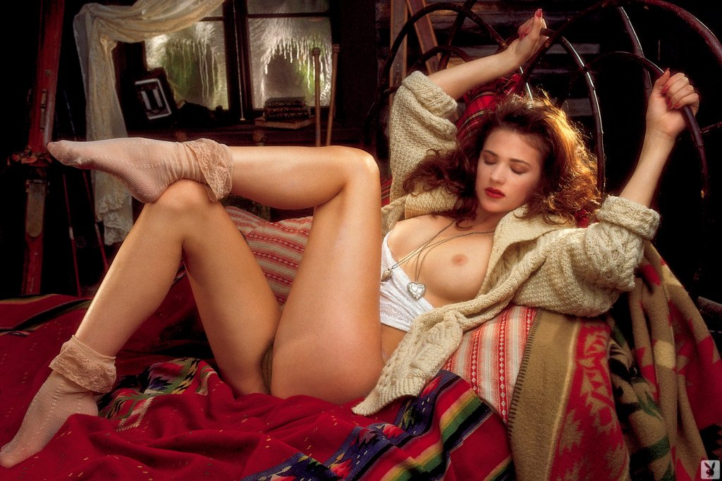 Playboy Features – Playmates in Bed Classic 1995 nude for Playboy