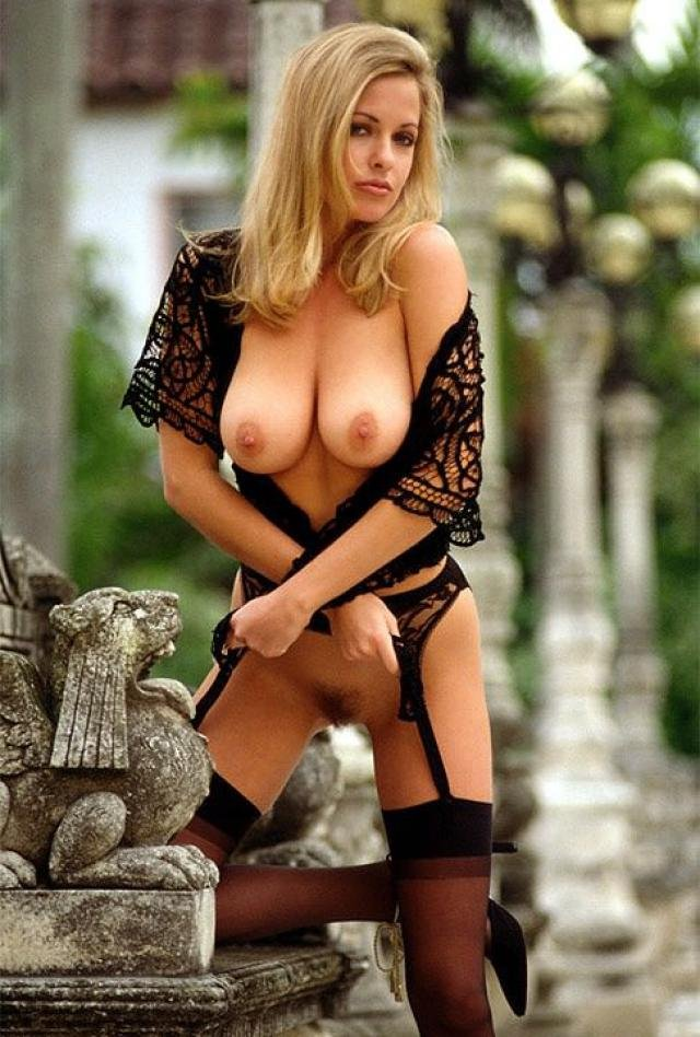 Rhonda Adams nude for Playboy