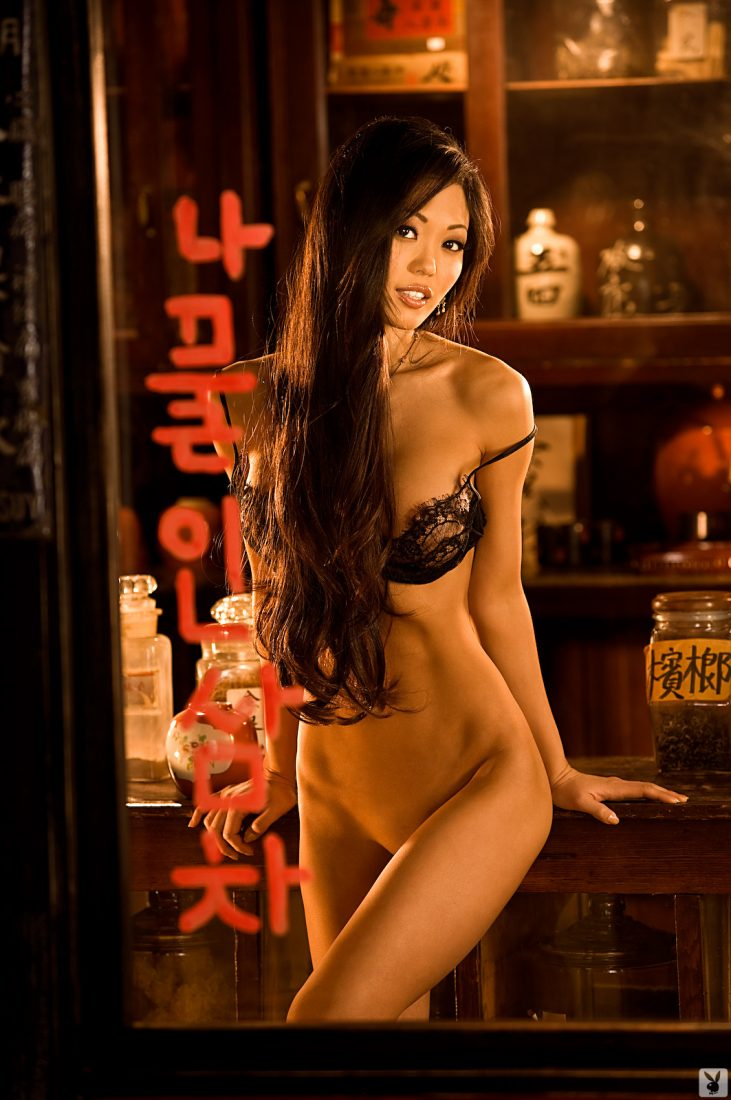 Grace Kim nude for Playboy