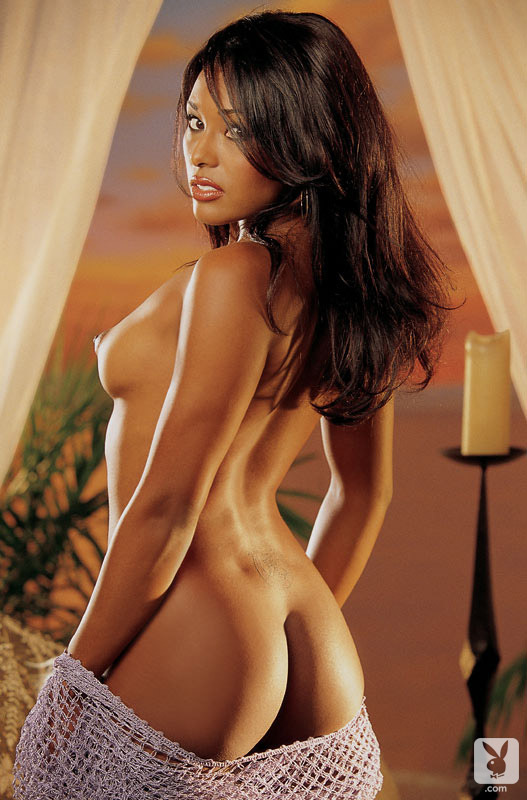 Nicole Narain nude for Playboy