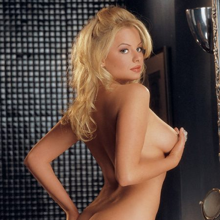 Tailor James nude for Playboy