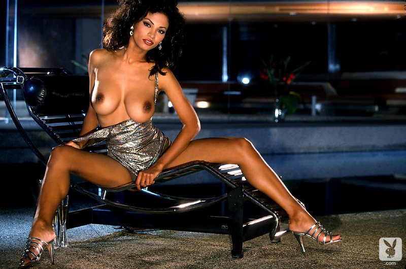 Playboy Playmates Features – Black is Beautiful nude for Playboy