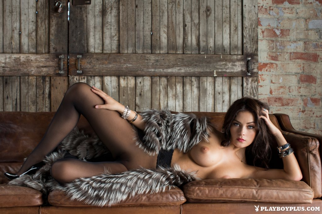Alexandra Tyler – Dark Chocolate nude for Playboy