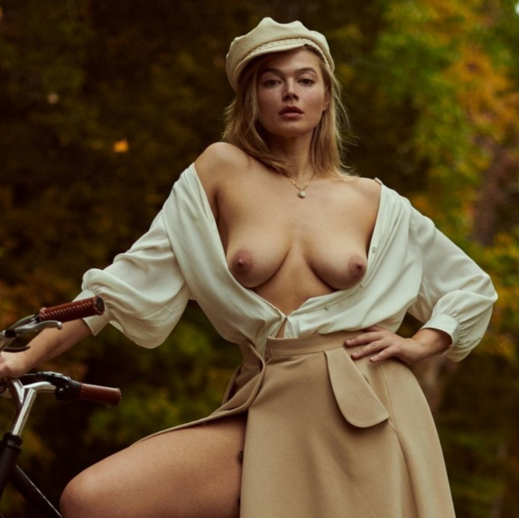 Khrystyana nude for Playboy