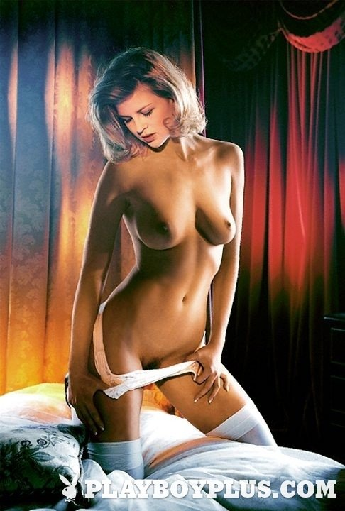 """Playboy Features – """"Daily Double"""" #3 nude for Playboy"""