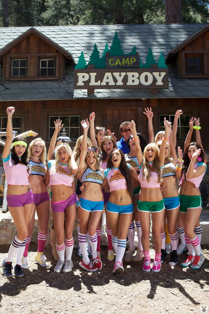 Playboy Features – Playmate Camp nude for Playboy