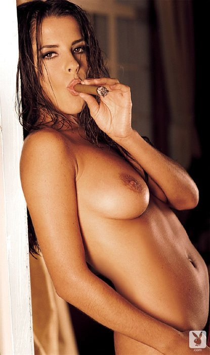 Playboy Features – Smoking Playmates nude for Playboy