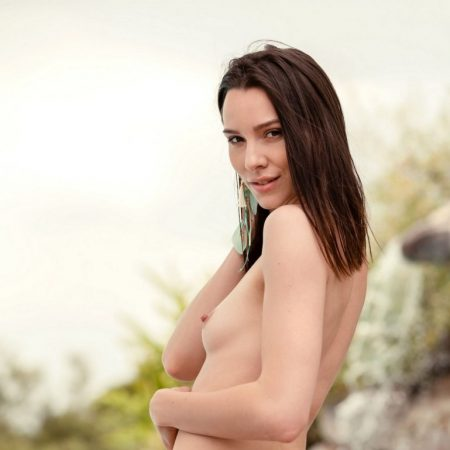 Adel Morel nude for Playboy