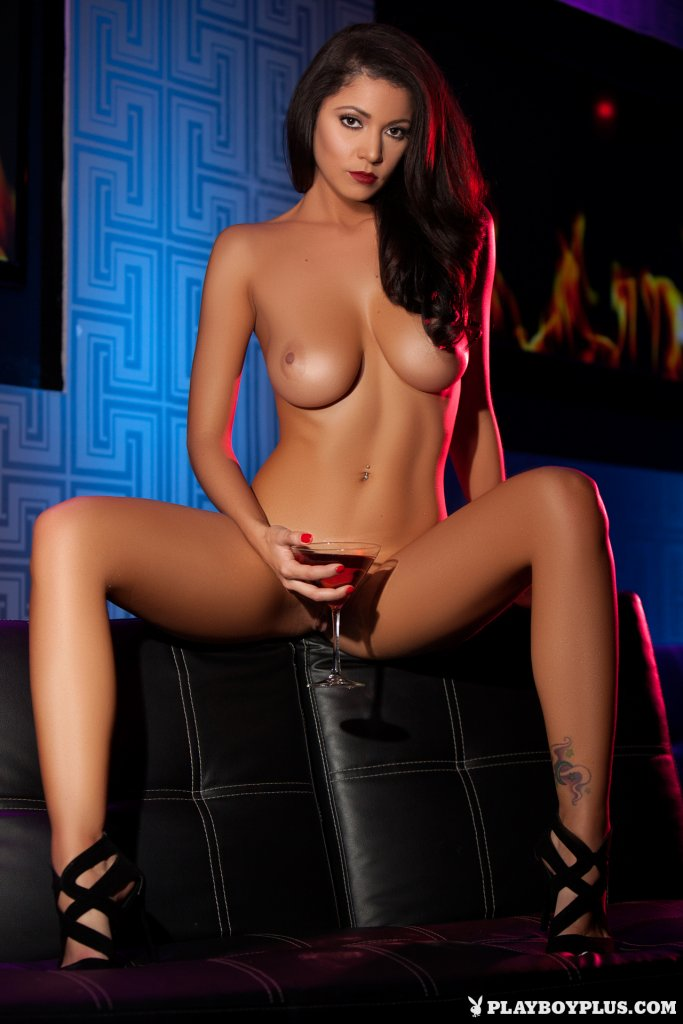 Ali Rose – Cherry Red Lips nude for Playboy