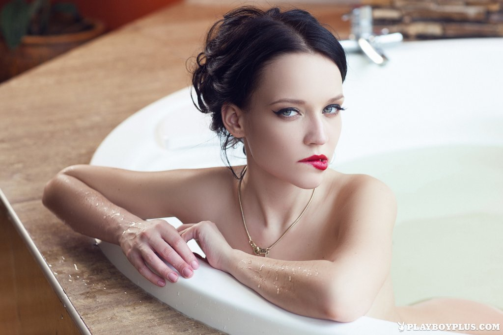Angie – Wet Your Whistle nude for Playboy