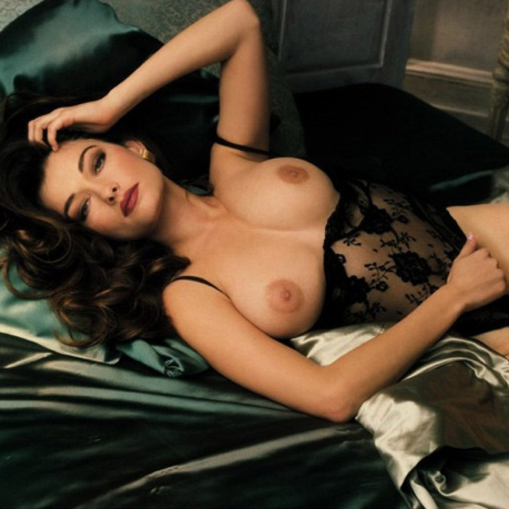 Playboy Lingerie – Women In Black nude for Playboy