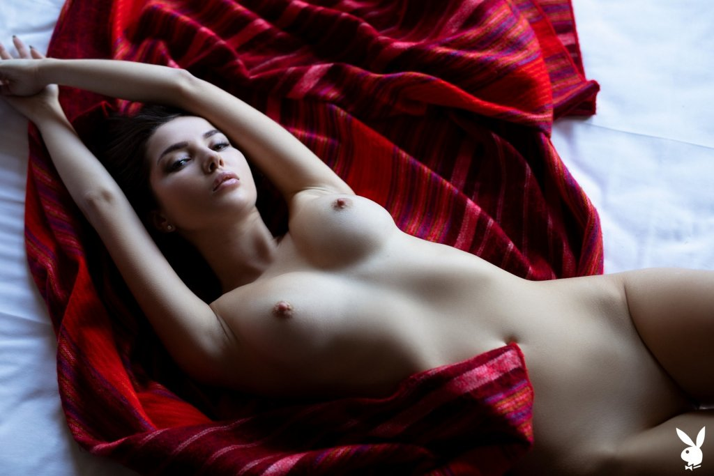 Marina Nelson in Modern Passion nude for Playboy