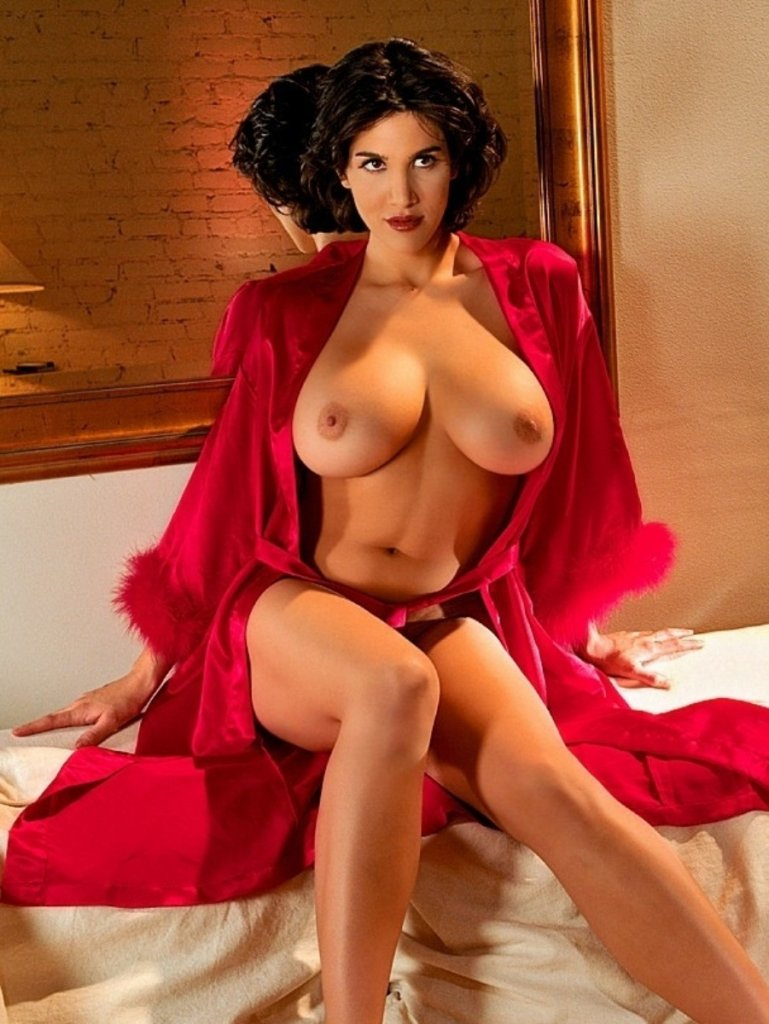 """Playboy Features – """"Daily Double"""" #5 nude for Playboy"""