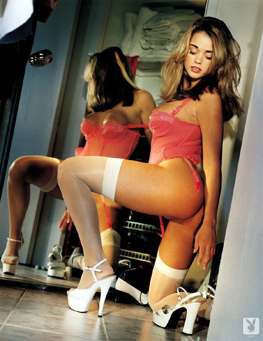 Playboy Lingerie – Pretty In Pink nude for Playboy