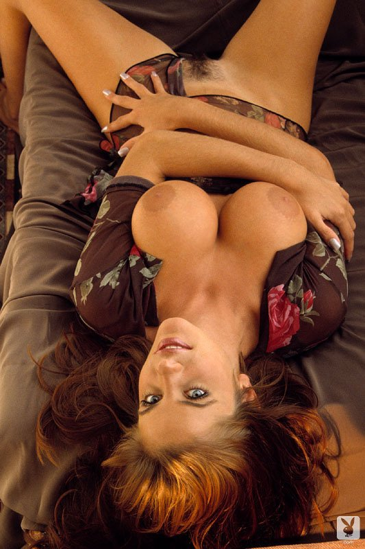 Playboy Lingerie – Red Delicious nude for Playboy