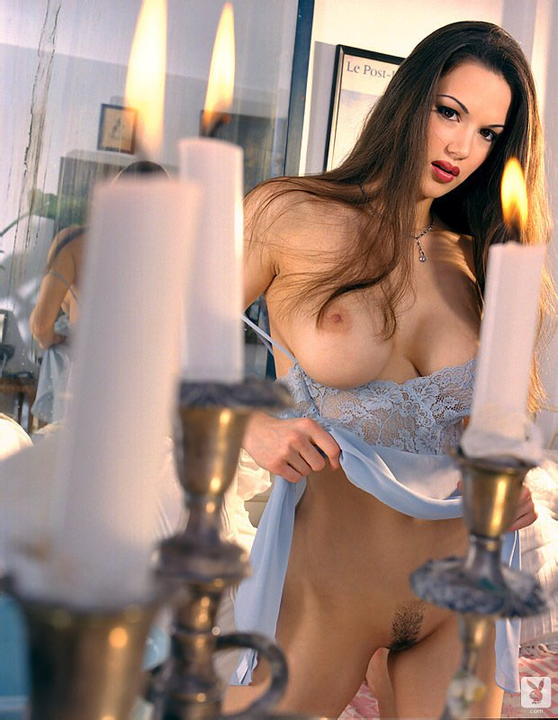 Playboy Lingerie – Wax On, Wax Off nude for Playboy